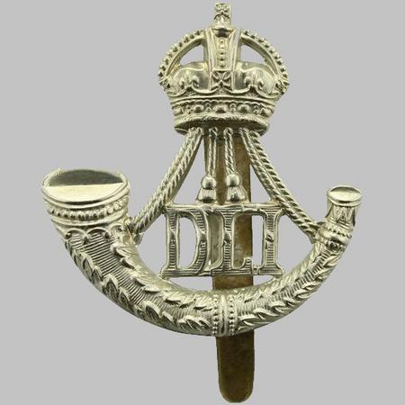 Durham Light Infantry WW1 Cap Badge