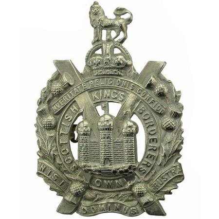 King's Own Scottish Borderers Cap Badge