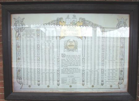 GWR Memorial
