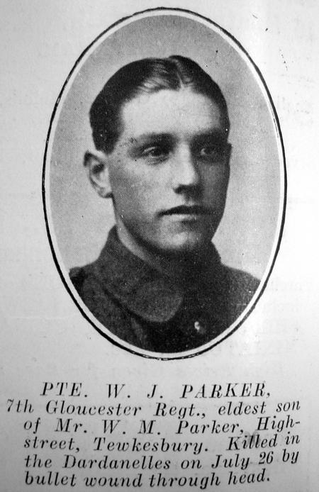 Profile picture for William James Maisey Parker