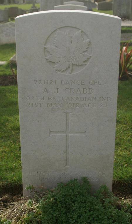 Profile picture for Alfred John Crabb