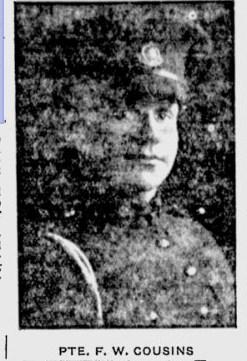 Profile picture for Frederick William Cousins