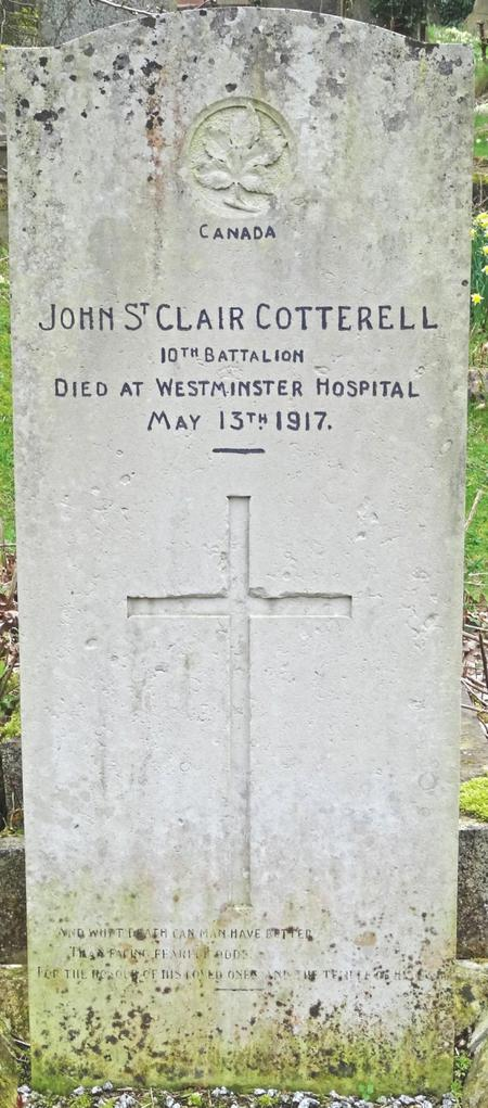 Profile picture for John St Clair Cotterell
