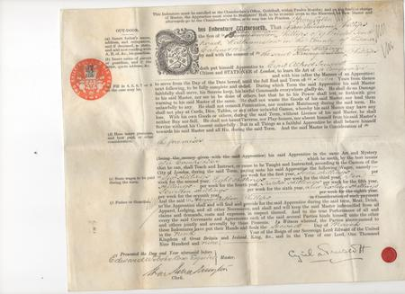 Indenture Papers - page 1