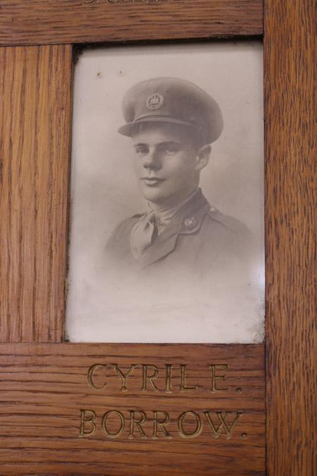 Profile picture for Cyril Ernest Borrow