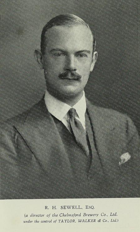 Ralph as a Director of The Chelmsford Brewery Co