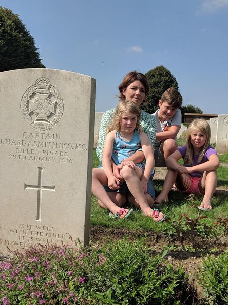 Visit to Jacob's Grave