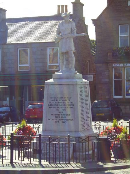War Memorial, Ellon, Aberdeenshire