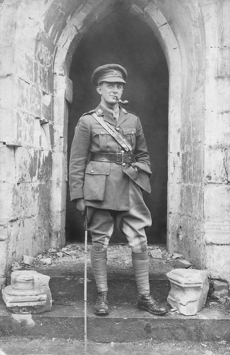2nd Lt. W.O. Montgomery, Arras, April 1917