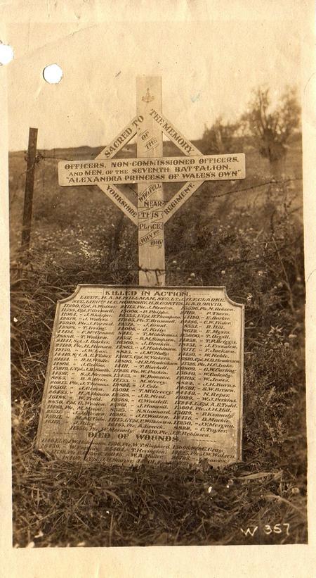 7th Battalion Yorkshire Regiment Memorial