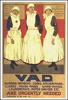 V.A.D. Recruitment Poster