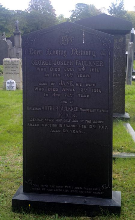 Profile picture for Arthur Faulkner