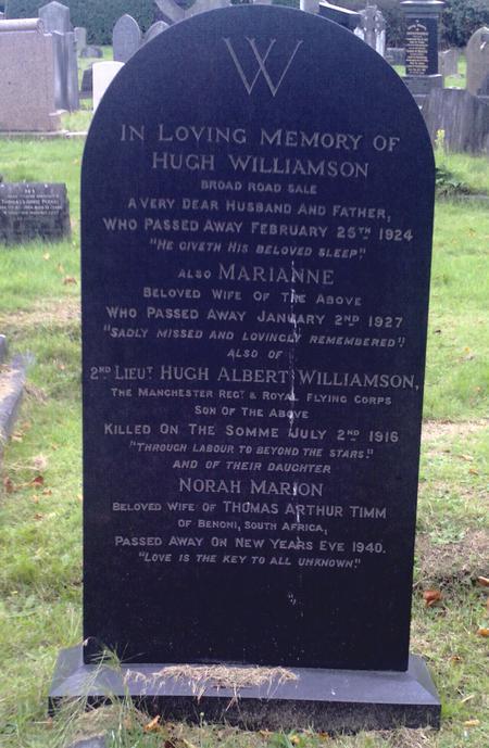 Profile picture for Hugh Albert Williamson