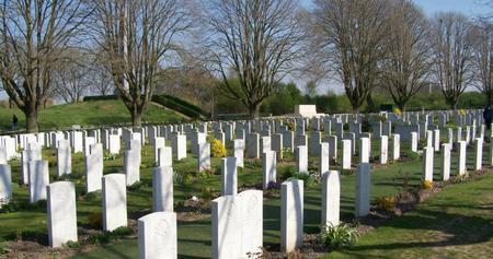 Essex Farm Cemetery, West-Vlaanderen, Belgium
