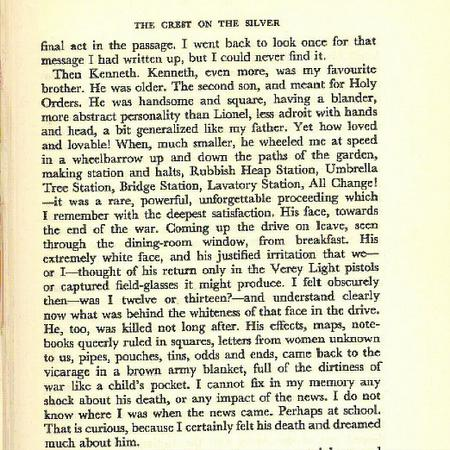 Description of Kenneth by his younger brother.