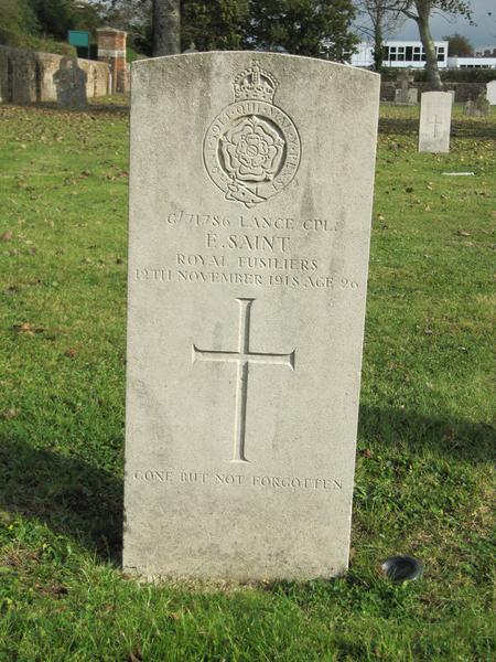 Profile picture for Ernest Saint