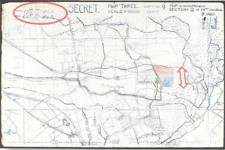 Brigade map for Tuesday 31 July 1917