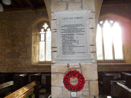 Memorial in Elmley Castle 1