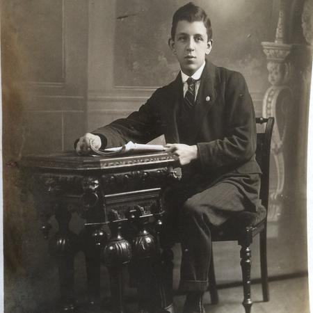 Ernest Heyworth prior to enlistment
