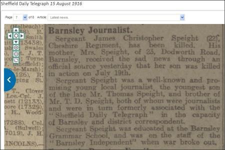 Barnsley Journalist KIA