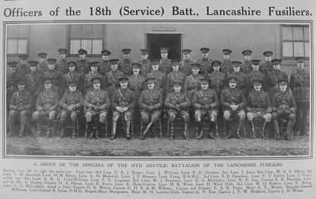 Lancashire Fusilier Officers