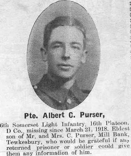 Profile picture for Albert Charles Purser