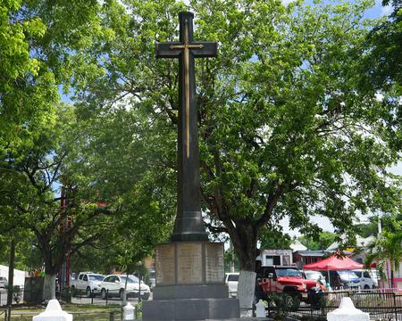 Cenotaph at St. John's