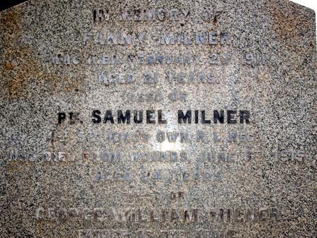 Profile picture for Samuel Milner