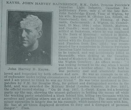 Profile picture for John Harvey Bainbridge Kayss