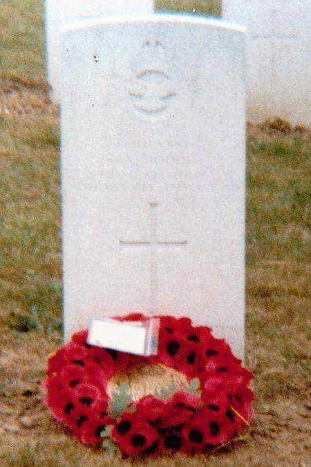 Albert's grave, St Souplet