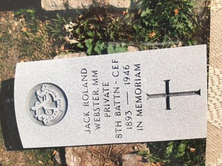 Brookside Military Cemetery, Winnnipeg, plot #2522