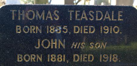 Profile picture for John Teasdale