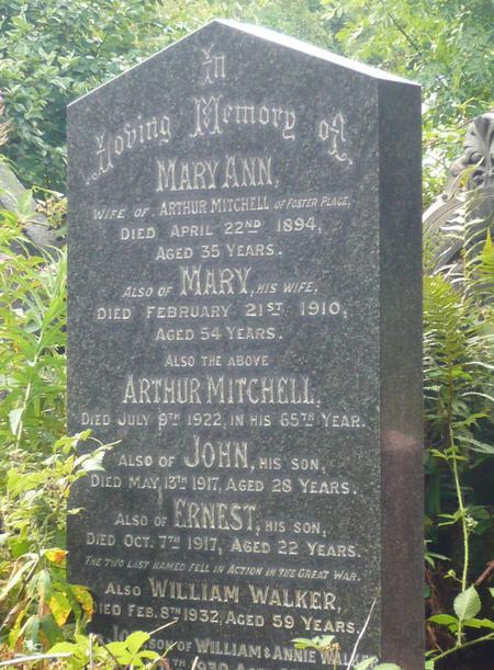 John Mitchell Memorial