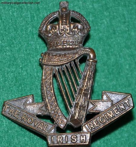 Royal Irish Regiment Cap Badge