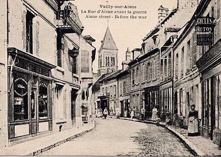 Vailly-sur-Aisne before the war