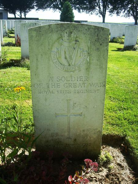 Unknown Royal Irish Regiment Soldier