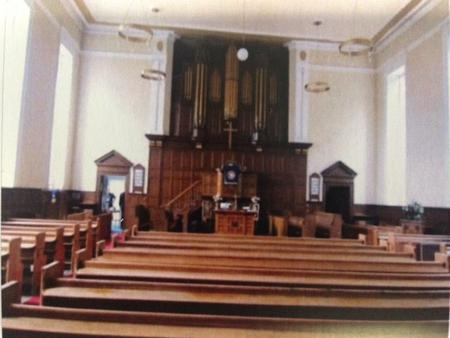 Fairlield Moravian Church.