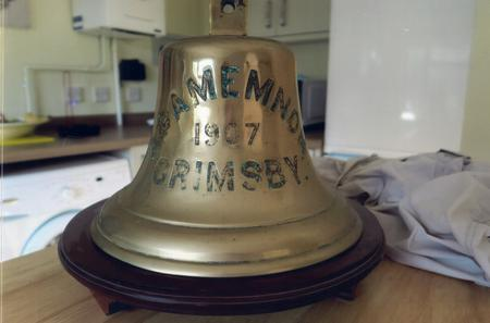 Photograph of the Ship's Bell