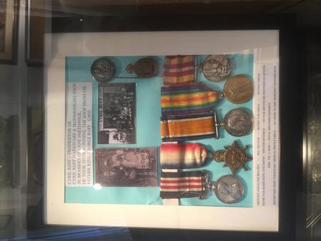 Cyril Ruff World War 1 Medals