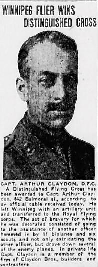 Profile picture for Arthur Claydon
