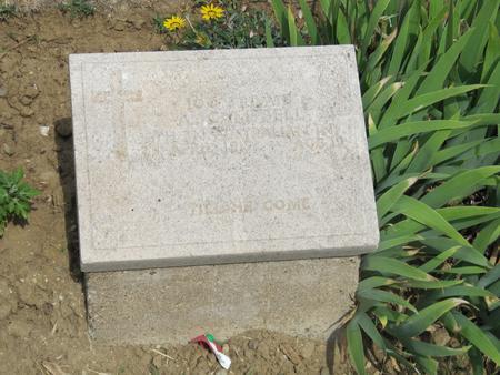 Grave marker The Nek Cemetery