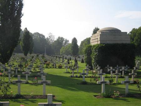 Ecoivres Military Cemetery