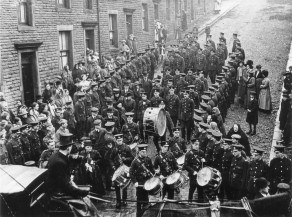 Full military funeral in Skipton