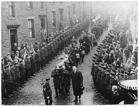 Full military funeral