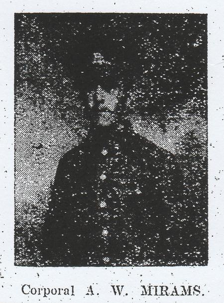 Profile picture for Arthur William Mirams.