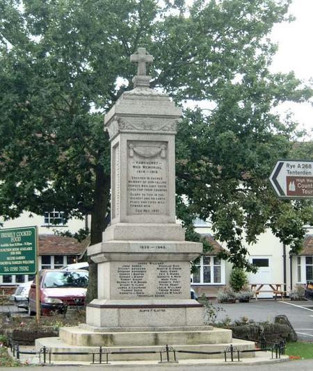 hawkhurst memorial