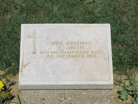 Grave marker 7th Field Ambulance Cemetery