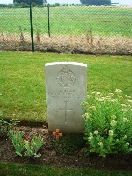 Unknown Royal Irish Regiment Soldier