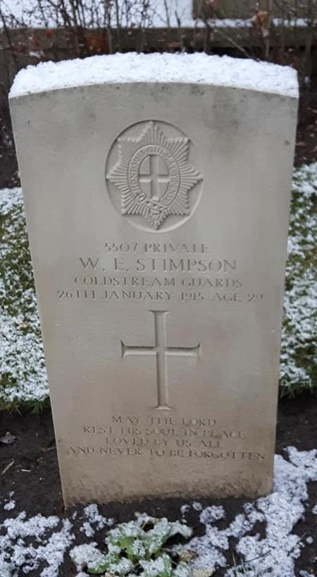 Gravestone of W Stimpson