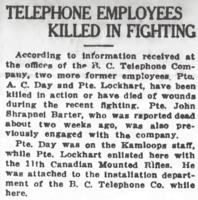 Obituary Daily Colonist 13/6.1917